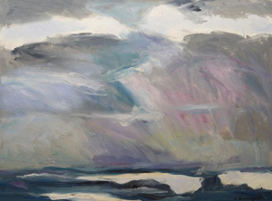 Ocean Sky Series #2 by Sandy Roumagoux